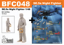 SE.5a Night Fighter w/ pilot 1/48