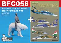 Evolution - L-39 s figurkou jezdce na medvědu 1/48