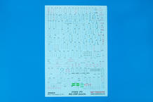 MiG-21MF stencils WET TRANSFER decals 1/72