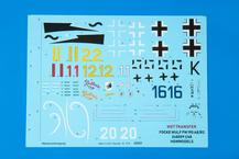 Fw 190A-8/R2 Reichsverteidigung WET TRANSFER декали 1/48