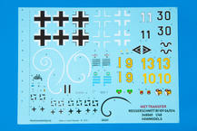 Bf 109G-6/14 Reichsverteidigung WET TRANSFER decals 1/48