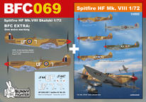 Spitfire HF Mk.VIII Skalski 1/72