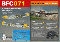 Bf 109G-10 WNF/ダイアナ ジジ 1/48