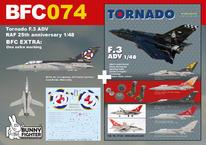 Tornado F.3 ADV RAF 25th anniversary 1/48