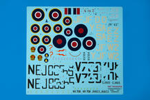 Tempest Mk.V série 2 WET TRANSFER decals 1/48