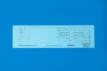 Tempest Mk.V série 2 popisky WET TRANSFER obtisky 1/48