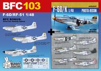 F-6D/RF-51 1/48