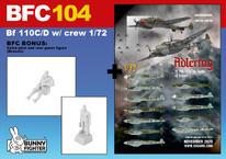 Bf 110C/D w/ crew 1/72