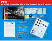 WILDE SAU Episode One: Ring of Fire with extra decal JG 300 1/48