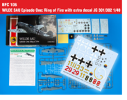 WILDE SAU Episode One: Ring of Fire with extra decal JG 301/302 1/48