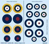 Spitfire Mk.I výsostné znaky 1/48