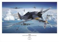 Poster -  Fw 190A-5 light fighter