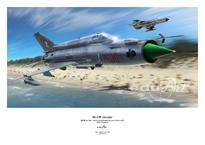 Плакат - МиГ-21МФ