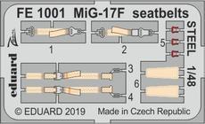МиГ-17Ф, стальные ремни 1/48