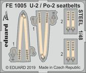 U-2 / Po-2 seatbelts STEEL 1/48