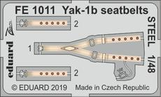 Yak-1b seatbelts STEEL 1/48