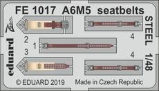 A6M5 seatbelts STEEL 1/48