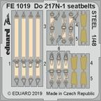 Do 217N-1 seatbelts STEEL 1/48