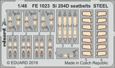 Si 204D seatbelts STEEL 1/48