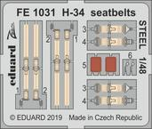 H-34 seatbelts STEEL 1/48