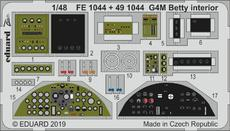 G4M Betty interior 1/48