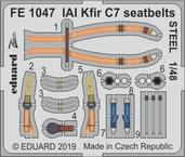 IAI Kfir C7 seatbelts STEEL 1/48