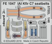 IAI Kfir C7 upínací pásy OCEL 1/48