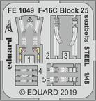 F-16C Block 25 upínací pásy OCEL 1/48