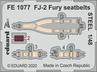 FJ-2 Fury seatbelts STEEL 1/48