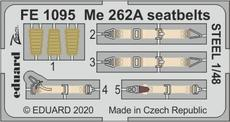 Me 262A seatbelts STEEL 1/48