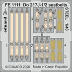 Do 217J-1/2 seatbelts STEEL 1/48