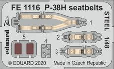 P-38H seatbelts STEEL 1/48