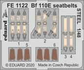 Bf 110E seatbelts STEEL 1/48