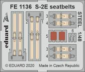 S-2E seatbelts STEEL 1/48