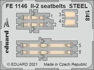 Il-2 seatbelts STEEL 1/48