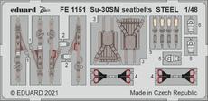 Su-30SM seatbelts STEEL 1/48