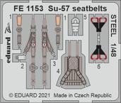 Su-57 seatbelts STEEL 1/48