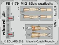 MiG-15bis seatbelts STEEL 1/48