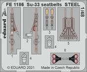 Su-33 seatbelts STEEL 1/48