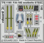 F/A-18E seatbelts STEEL 1/48