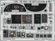 Lancaster B Mk.I cockpit 1/48