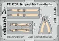Tempest Mk.II seatbelts STEEL 1/48