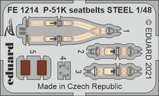 P-51K seatbelts STEEL 1/48