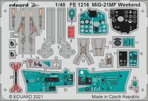 MiG-21MF Weekend 1/48
