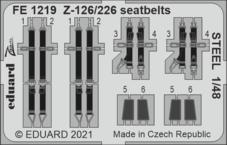 Z-126/226 seatbelts STEEL 1/48