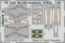 Mi-24D seatbelts STEEL 1/48