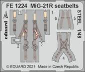 MiG-21R seatbelts STEEL 1/48