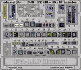 F/A-18D interiér S.A. 1/48