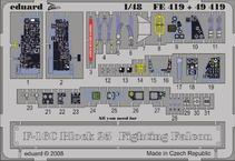F-16C ブロック 25 接着剤塗布済 1/48