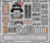 Fw 190A-6 interior S.A. 1/48